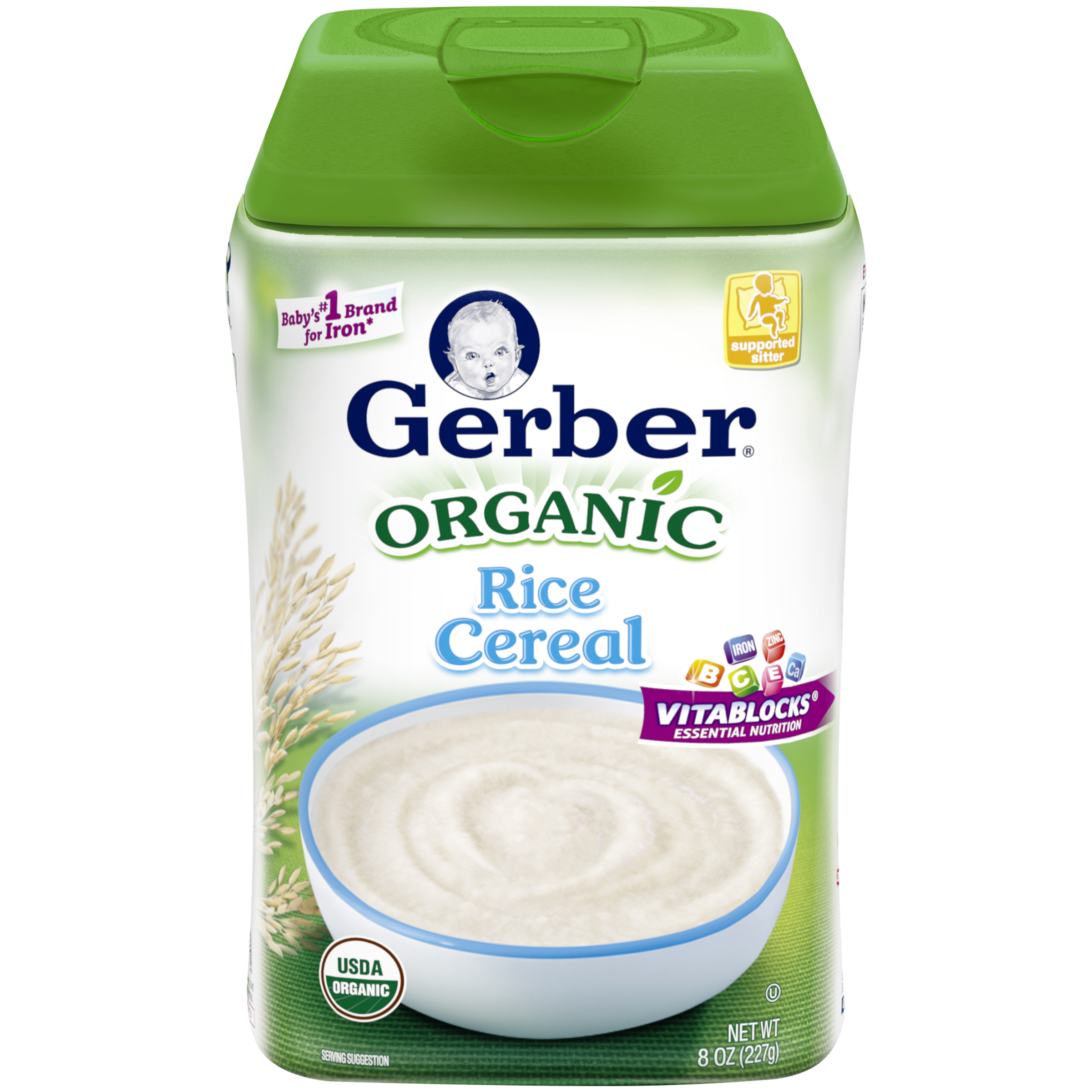 how to make gerber rice cereal for baby